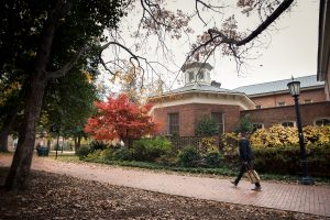 Hyde Hall in the Fall
