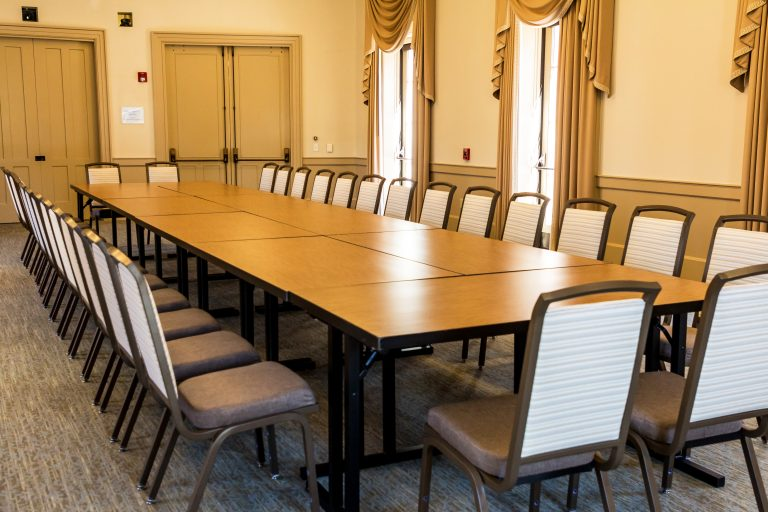 University Room boardroom style