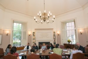 Faculty Fellows Meet at Hyde Hall