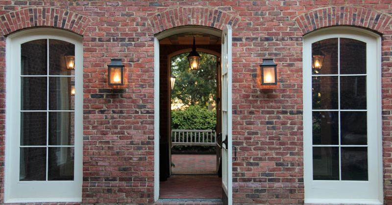 Hyde Hall Door