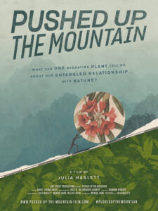 Film poster of Pushed Up the Mountain Julia Haslett
