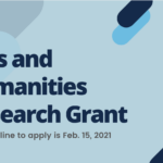 Arts Humanities Research Grant